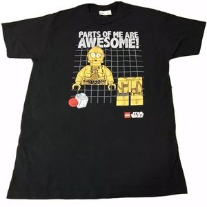 Lego Star Wars C3PO Parts Of Me Are Awesome! Tee